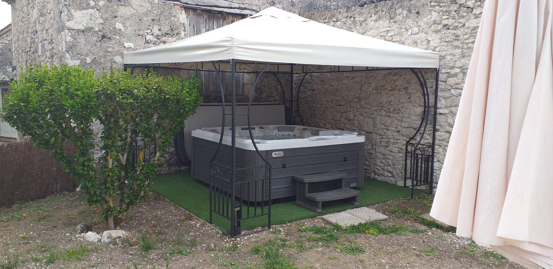 installation de spa prive
