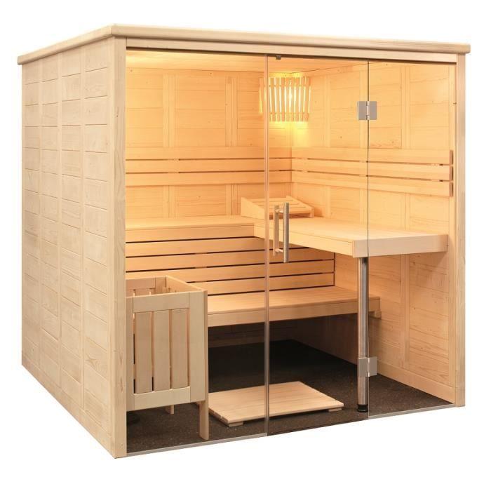 cabine de sauna alaska view de sentiotec