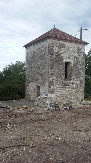 Rénovation pigeonnier à Moissac